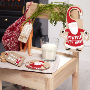 wooden santas coming christmas eve kit christmas eve box ideas