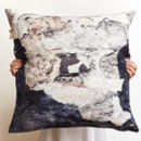 *New* Organic Textures Large Linen Cushion