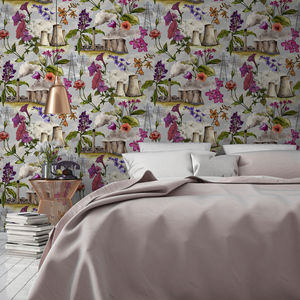 Flowers And Cooling Towers Wallpaper - home accessories