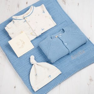 Welcome Baby Boy Wigwam Gift Box