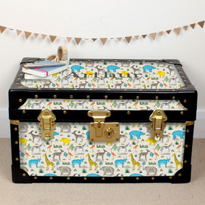Safari Animals Tuck Box