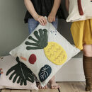 Children's Needle Punch Pineapple Cushion
