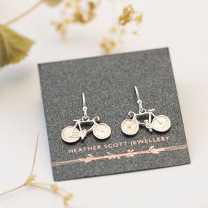 Bicycle Earrings - earrings