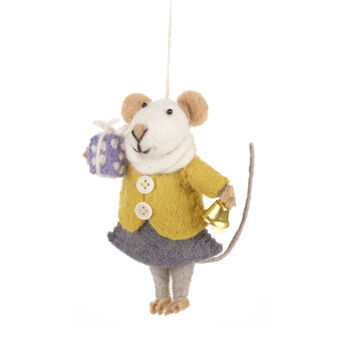 Handmade Agnes Mouse Fair Trade