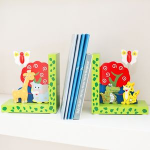 Children's Personalised Wooden Bookends