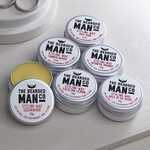 Set Of Six Moustache Wax