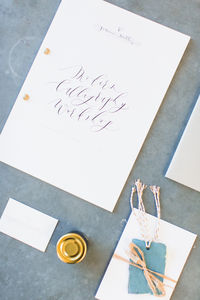 Beginners Calligraphy Workshop Surrey March 14th 2017 - experiences