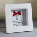 Personalised Love Gift Heart Keepsake Charm