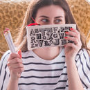 Personalised Alphabet Pencil Case