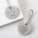 'Amazing Things' Star Keyring