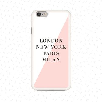 Personalised Fashion Capitals Phone Case