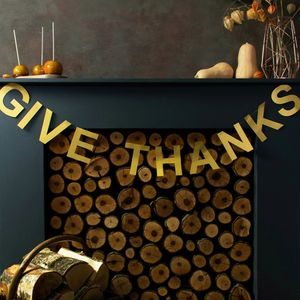 Give Thanks Thanksgiving Banner