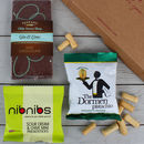 Gin And Nibbles Letterbox Gift Hamper