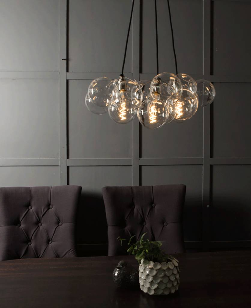 Superbe Bubble Chandelier Light Three Point   Ceiling Lights