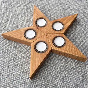 Star Tea Light Holder - votives & tea light holders
