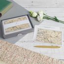 Personalised Map Stationary Set