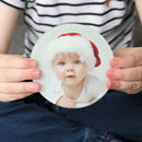 Personalised Photograph Frosted Glass Drink Coaster