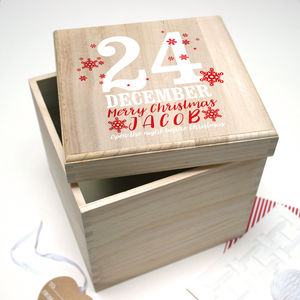 Personalised Christmas Eve Box - christmas eve