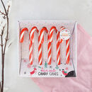 Boozy Peppermint Schnapps Candy Canes