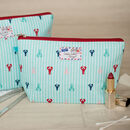 You're My Lobster Gift Lobsters Makeup Wash Bag