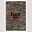 Forest Hill Typographic Print