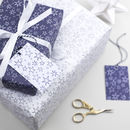 Handrawn Stars Christmas Wrapping Paper