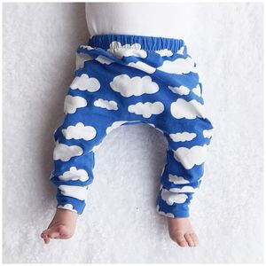 Blue Cloud Child And Baby Leggings - gifts: under £25