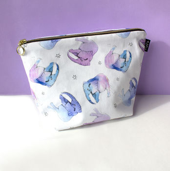 Baby Elephants Wash Bag