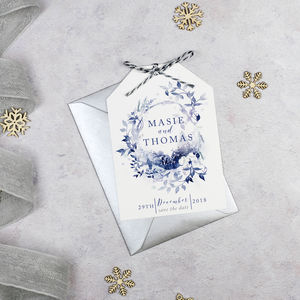 'A Winters Day' Save The Date - save the date cards