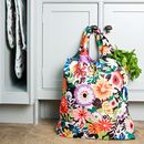 Floral Fold Up Shopper