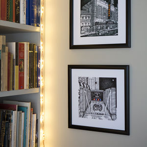 Personalised New York City Subway Print - drawings & illustrations