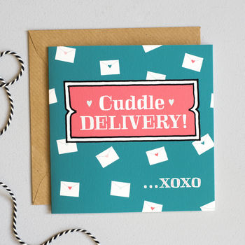 'Cuddle Delivery' Mother's Day Card