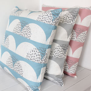 Cloud 'Cumulus' Print Cushion