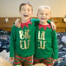 Big Elf Lil Elf Sibling Pj Set