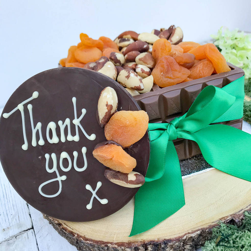 Fruit And Nut Chocolate Box