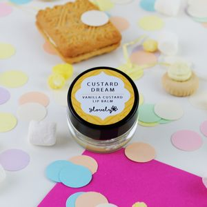 'Custard Dream' Vanilla Custard Lip Balm - gifts for her