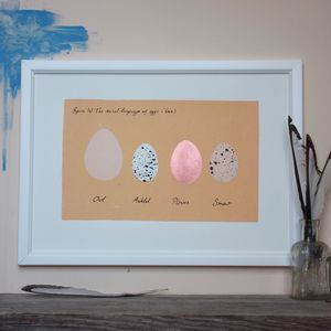 The Secret Language Of Eggs - posters & prints
