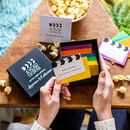 Personalised Box Of Movie Date Night Ideas