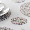 Beach Clean Round Coaster Set