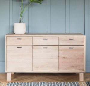 Malmo Solid Oak Sideboard