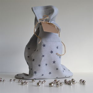 Star Pattern Gift Sack - wrapping