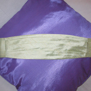 Silk Pageboy Cummerbund - wedding fashion