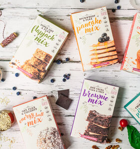 Gift Pack Of Five Healthy Delicious Baking Mixes