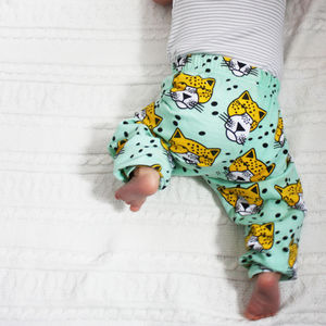 Cat Print Baby And Toddler Leggings - clothing