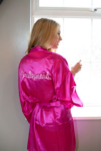 Bridal Personalised Robe Perfect For Your Hen Party - new in fashion