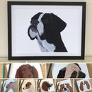 Dog Art Prints 'Choice Of Eight Designs'