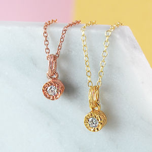 Gold Fine Jewellery Solitaire Diamond Necklace - necklaces & pendants