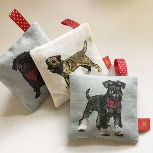 Favourite Dogs Lavender Bags - bedroom