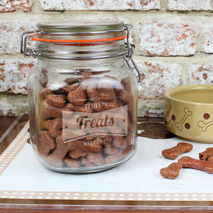 Personalised Retro Jar - tins, jars & bottles