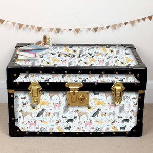 Debonair Dogs Tuck Box - baby's room